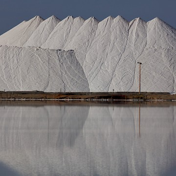 Wintry Salt Mountain